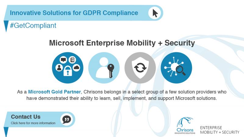 Microsoft Enterprise Mobility + Security banner