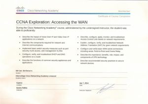 CCNA Exploration - Accessing the WAN