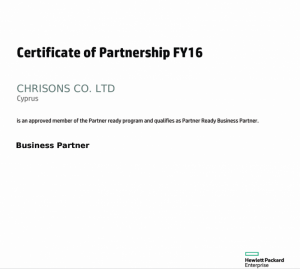 HP PartnerReadyCertificate - 1-TBD7L