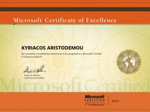Microsoft Certified IT Professional - MCITP