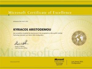Microsoft Lync Server 2010 - Kyriacos