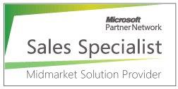 Microsoft Partner Network - Midmarket Solution Provider Sales Specialist - Certificate of Completetion 30-05-2013
