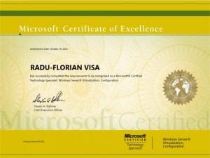 Microsoft Windows Server Virtualization Configuration - Radu