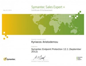 Symantec Sales Expert Plus - Symantec Endpoint Protection 12.1 September 2012 - 30-05-2013