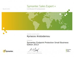 Symantec Sales Expert Plus - Symantec Endpoint Protection Small Business Edition 2013 - 28-05-2013