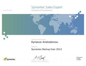 Symantec Sales Expert - Symantec Backup Exec 2012 - 19-06-2013