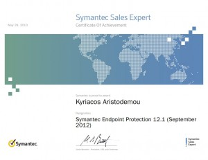 Symantec Sales Expert - Symantec Endpoint Protection 12.1 September 2012 - 29-05-2013