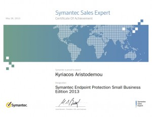 Symantec Sales Expert - Symantec Endpoint Protection Small Business Edition 2013 - 28-05-2013